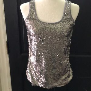⭐️Express Sequined tank. Perfect for Holiday 👠